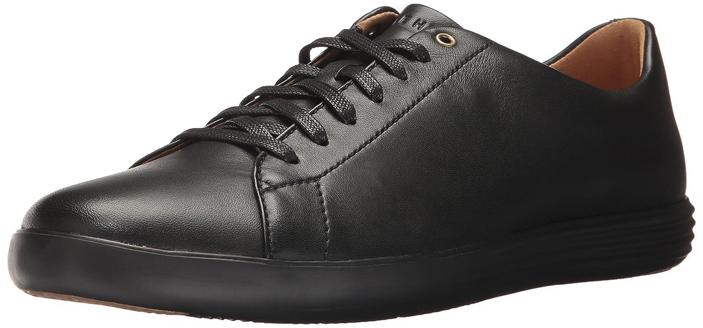 Black leather black Cole Haan Men's Grand Crosscourt II Sneaker
