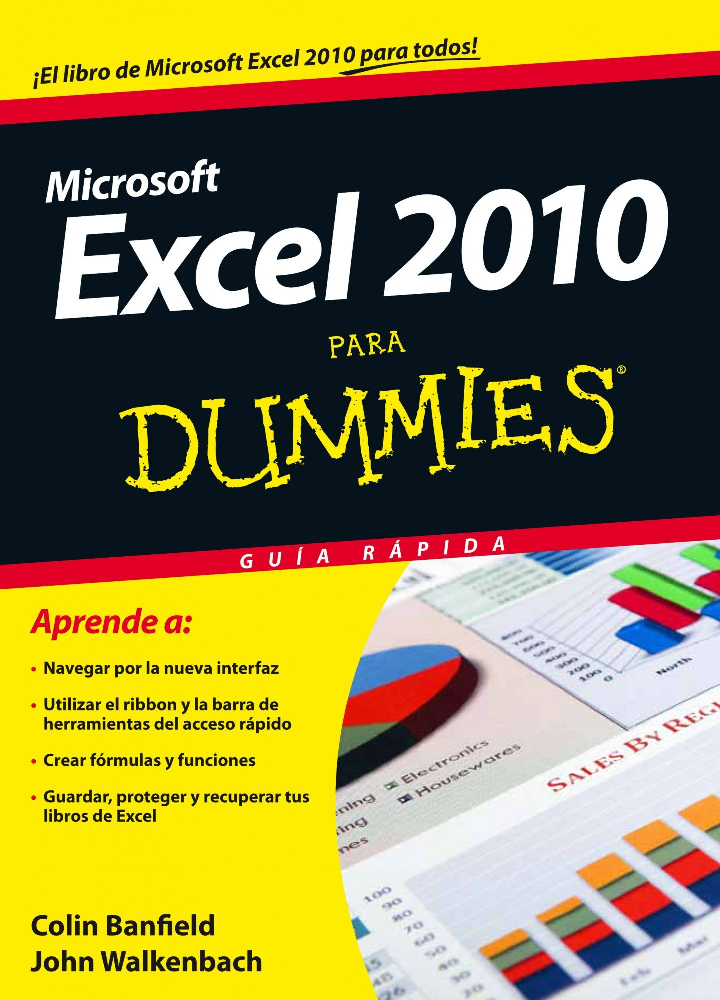 Excel 2010 para Dummies (Spanish) Paperback – January 1, 1900