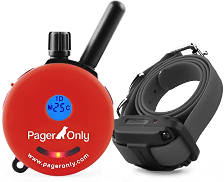 Educator Pager Only 1 2 Mile Dog System Remote Training Collar