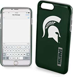 "Michigan State Spartans Impact TPU 2-Piece Dual Hybrid iPhone 8 PLUS / iPhone 7 PLUS / iPhone 6 PLUS / 6s PLUS - 5.5"" Screen ONLY"