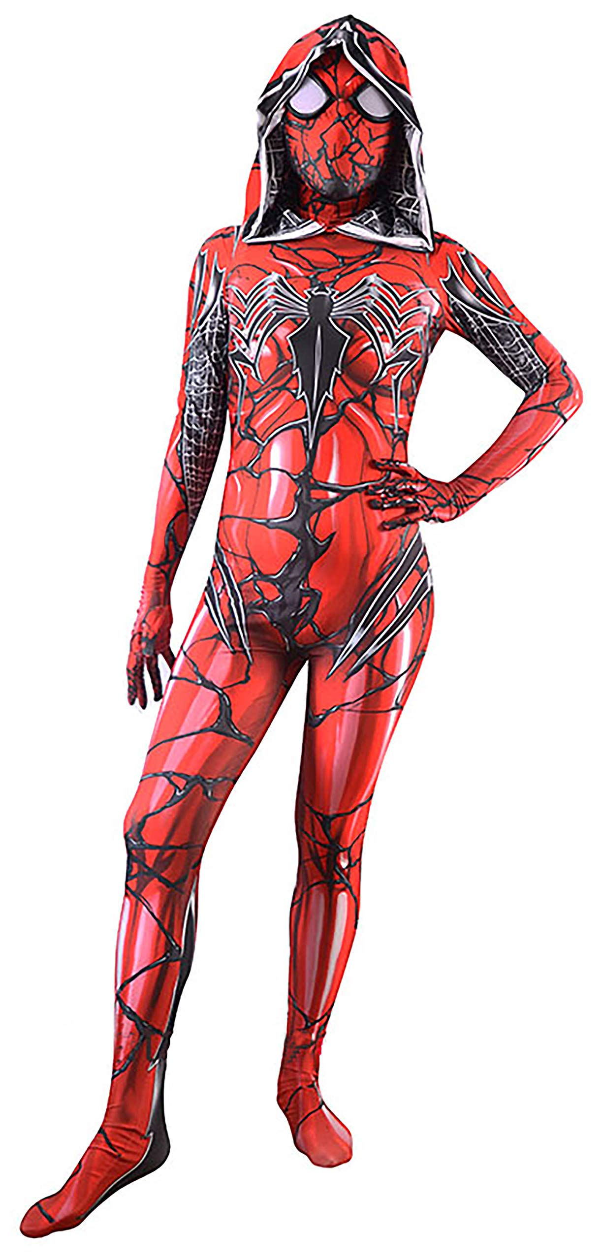 - 81y6uAKdi5L - DANNEL Unisex Spandex Onesie Adult and Kids 3D Zentai Suit Costume Cosplay Bodysuit