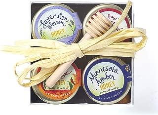 product image for Bare Honey | Signature Honey Gift Set | 4 x 1.87 oz Glass Jars