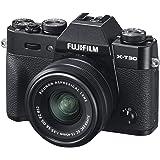 Fujifilm X-T30 svart med XC15-45 mmF3.5-5.6 OIS PZ objektivsats