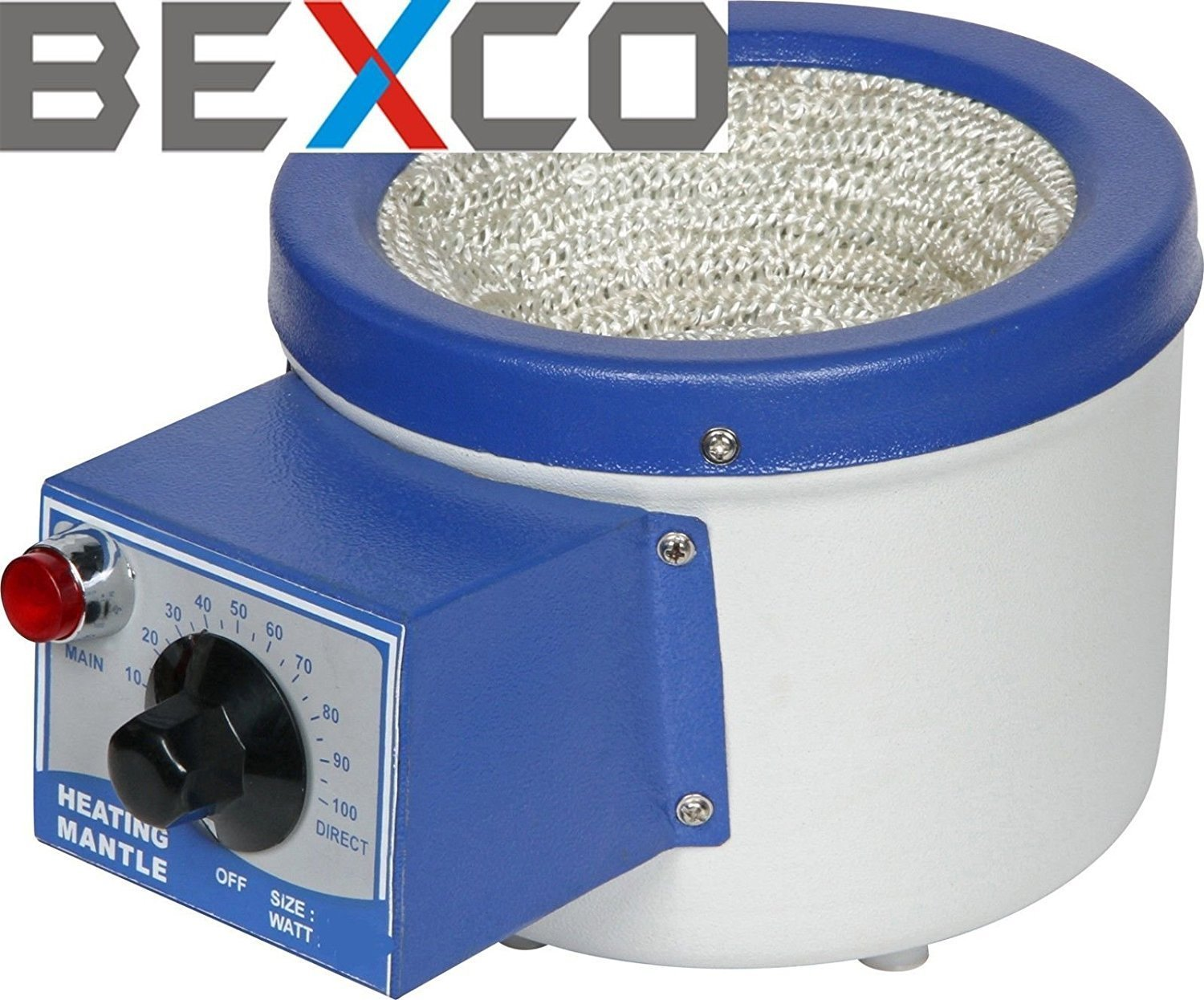 Heating Mantle for Round Bottom Flask 110V 500ml Best Quality Original Item of Brand BEXCO DHL Expedited Shipping by BEXCO