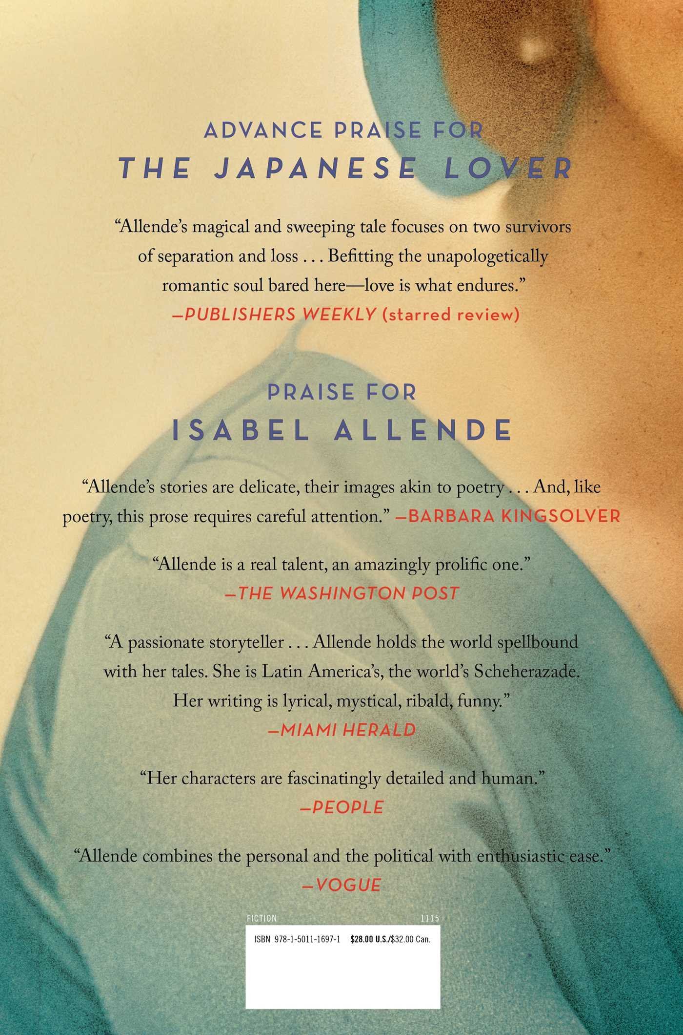 The Japanese Lover: A Novel: Isabel Allende: 9781501116971: Amazon:  Books