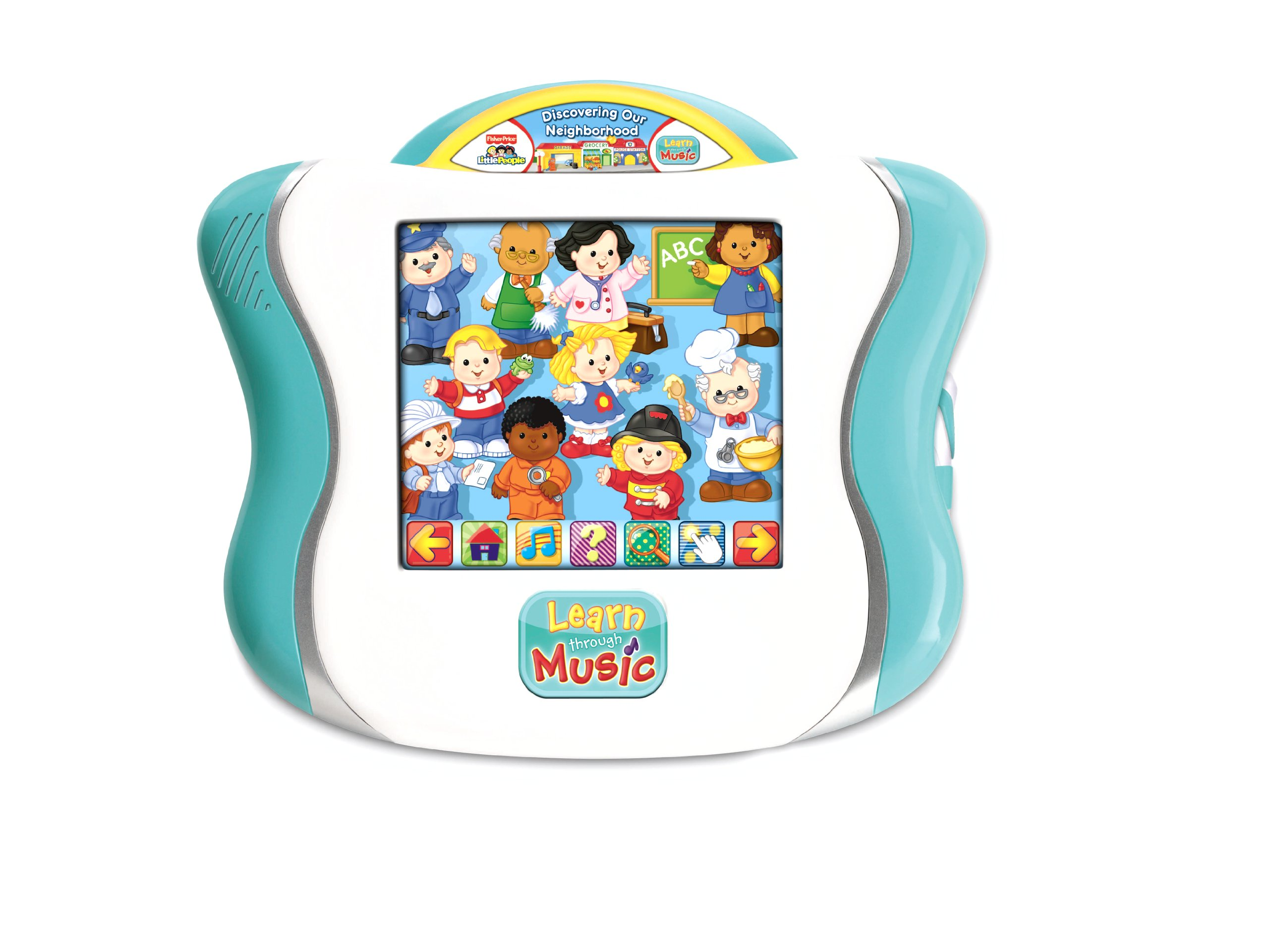 Fisher-Price Learn Through Music Touchpad Software - Little People's Discovering The Neighborhood