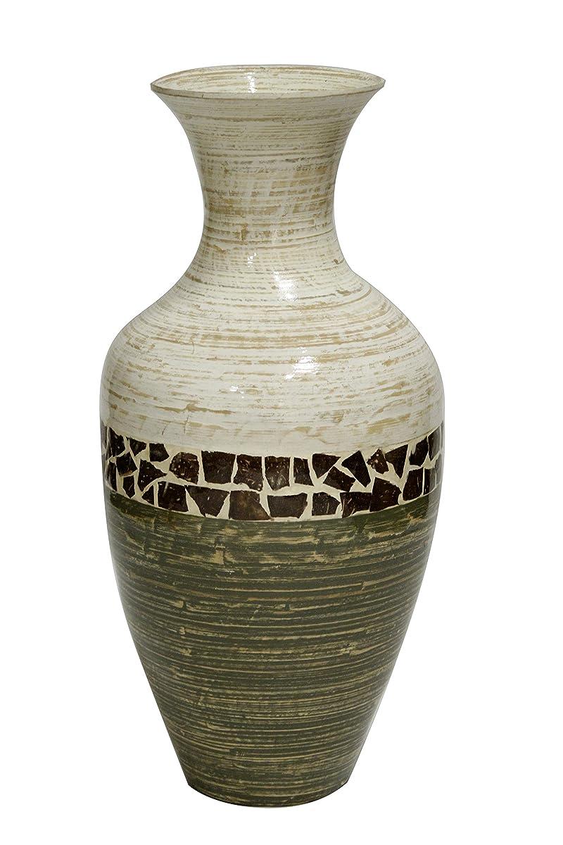 Heather Ann Creations Terry Spun Bamboo Floor Vase