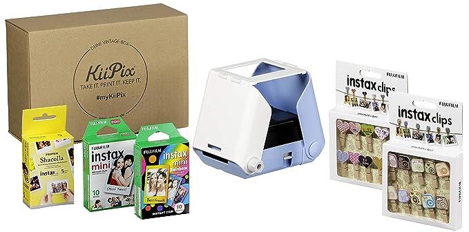 KiiPix Vintage Box - Impresora fotográfica (Incluye Set Creativo ...