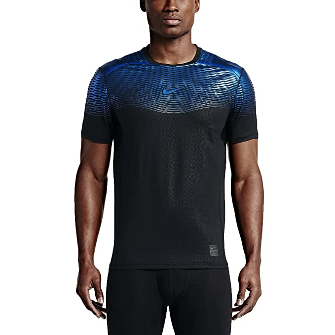22198110aad80 NIKE Men's Pro Hypercool Max Fitted Training Shirt at Amazon Men's Clothing  store: