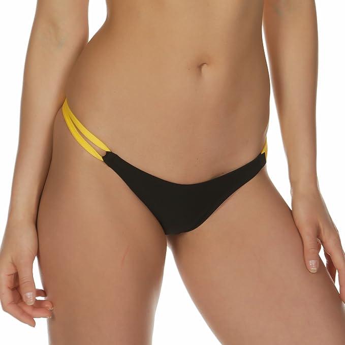 Bikini, slip da bikini alla brasiliana, con lacci