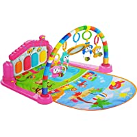 Baby Play Gym Piano Fitness Rack 3 in 1 Music Infant Activity Play Mat