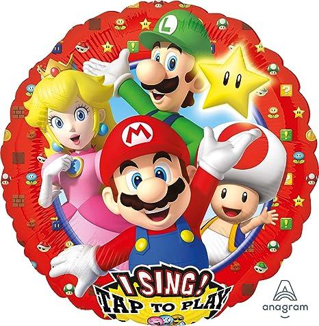 Unbekannt Globo Baila * Super Mario * para cumpleaños ...