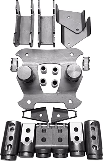 """Polaris RZR RS1 Bungs Roll Cage Connectors Adapters 1 3//4/"""" .095 .120 wall"""