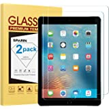 SPARIN [2 Pack Screen Protector for 9.7 inch iPad 6th Generation (2018/2017) / iPad Pro 9.7 - Tempered Glass/Apple Pencil Com