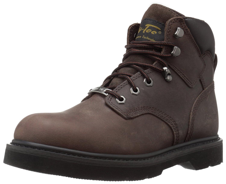 AdTec Men's 6 Inch Steel Toe 9328 Work Boot, Brown, 14 M US  B00OUHV3MS