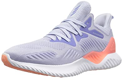 40a8417755d94 adidas Performance Unisex-Kids Alphabounce Beyond j, Aero Blue Chalk  Purple White