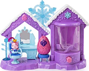 Hatchimals CollEGGtibles, Glitter Salon Playset with 2 Exclusive Hatchimals, for Kids Aged 5 and Up