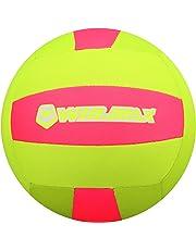 Molee Beachvolleyball,Neopren Zubehör Beach und Funball Größe 5 Weicher Ballkontakt,maschinengenäht