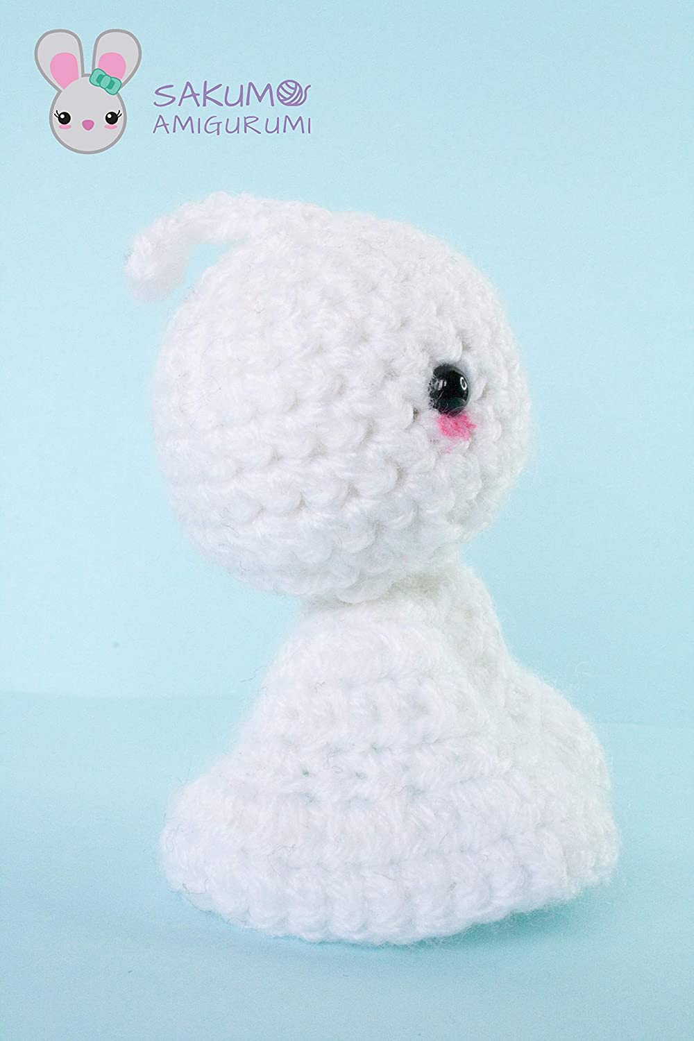 Crochet Pocket Ghost Free Pattern | 1500x1000