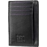 flintronic ® Tarjetas de Crédito Slim Moda RFID Bloqueo Monedero de Cuero, Mini Billetera para Cartera ID,Tarjetero…