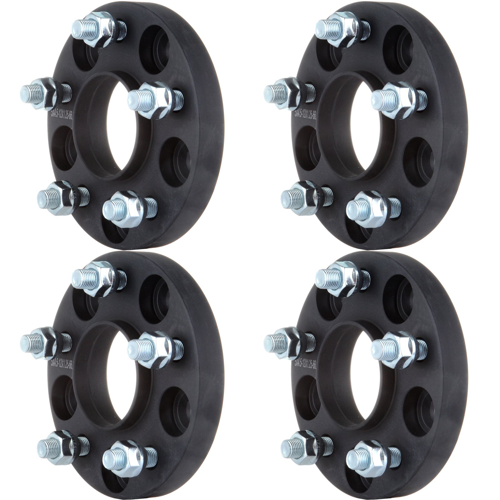 Wheel Spacers,ECCPP Hubcentric Wheel Spacer Adapters 5 lug 4X 5x4.5/5x114.3mm 20mm Fit for 2009-2015 Infinity G37 Nissan Altima Maxima Murano GTR with 12x1.25 Studs