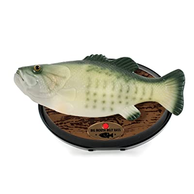 Gemmy Inflateables Holiday (G08 47957) Big Mouth Billy Bass, Green - 15th Anniversary Edition: Home & Kitchen