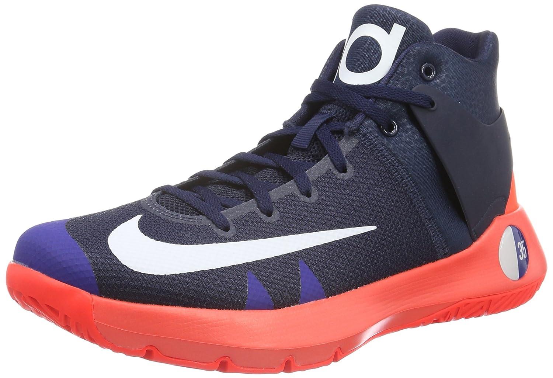 Nike KD Trey 5 IV, Zapatillas de Baloncesto para Hombre 42 EU Negro (Obsidian / White-bright Crimson)