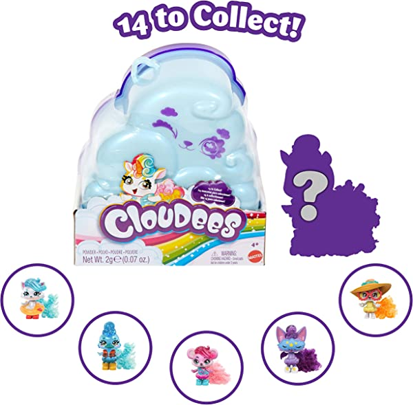 Cloudees Large Pets Series 1 in box