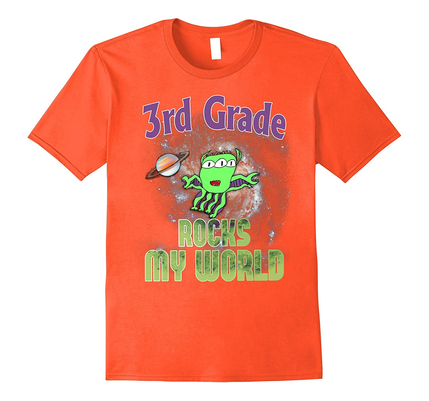 3rd Grade Rocks T Shirt Tee - Back to School Third Grade-FL