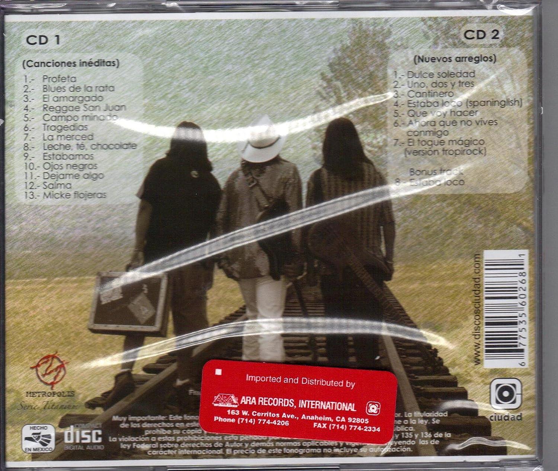 ARA RECORDS - Tex Tex De Donde Somos Y a Done Vamos 2cds - Amazon.com Music