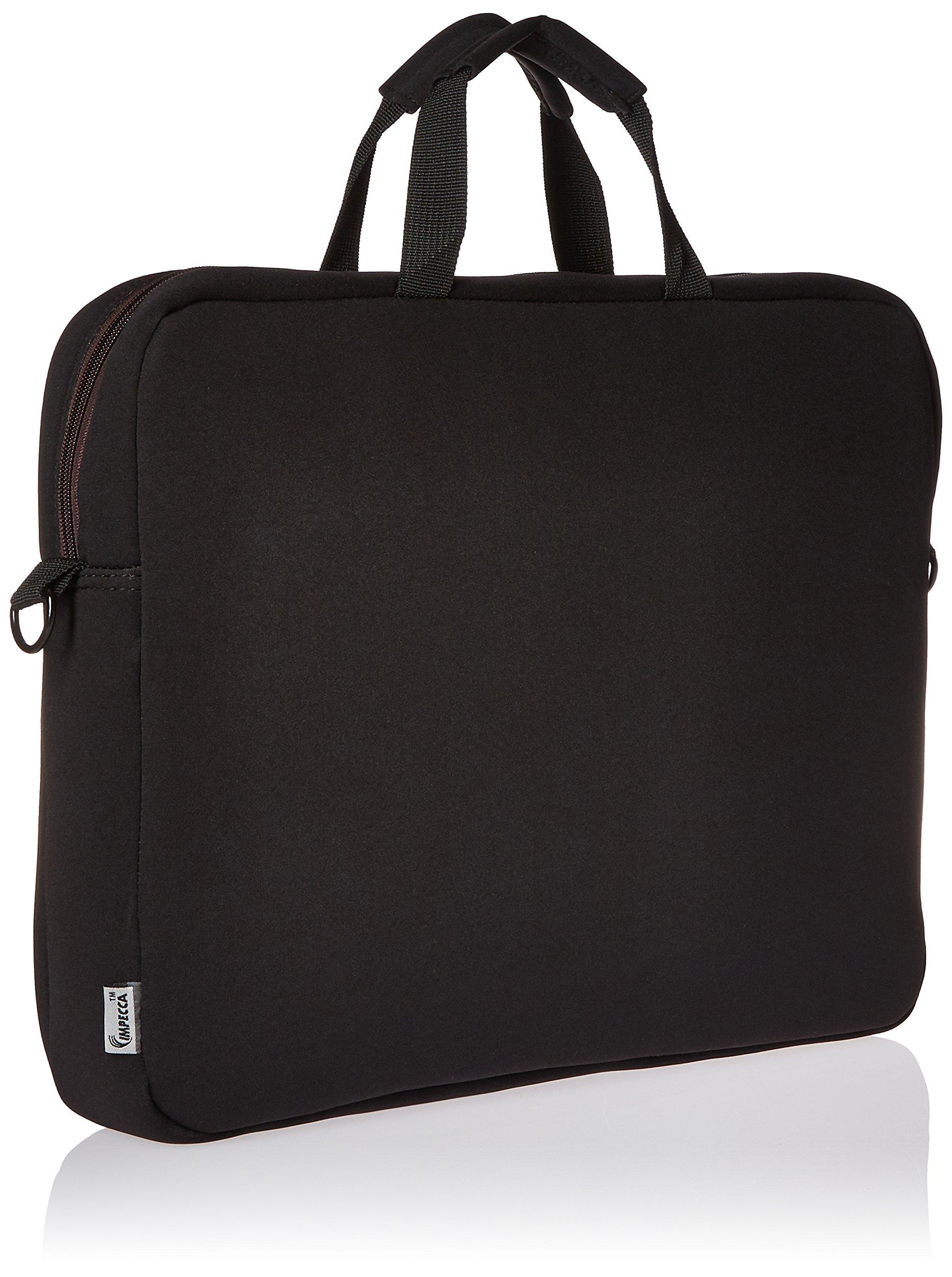 I Love NY Laptop Case, Black/Brown (ILNLAP1602BR) by I Love NY (Image #2)