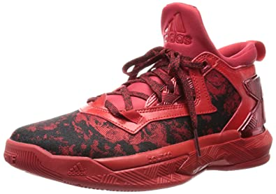 adidas D Lillard 2.0 Basketball Shoes - 18 Red  Amazon.co.uk  Shoes ... fb4ceabc5b
