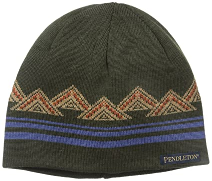 446a47b8 Amazon.com: Pendleton Men's Knit Watch Cap, American Treasures One Size:  Clothing
