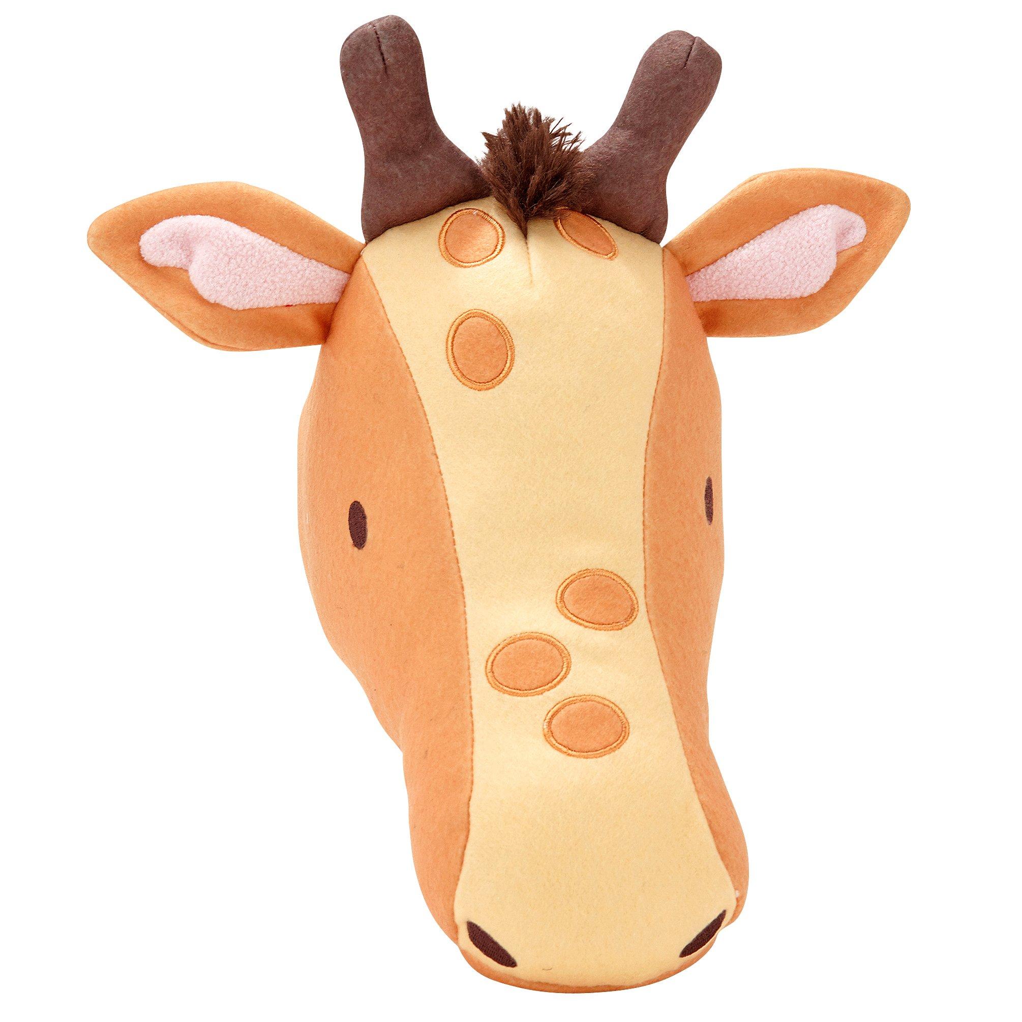 Amazon.com : Little Love by NoJo Plush Animal Head Nursery Wall ...