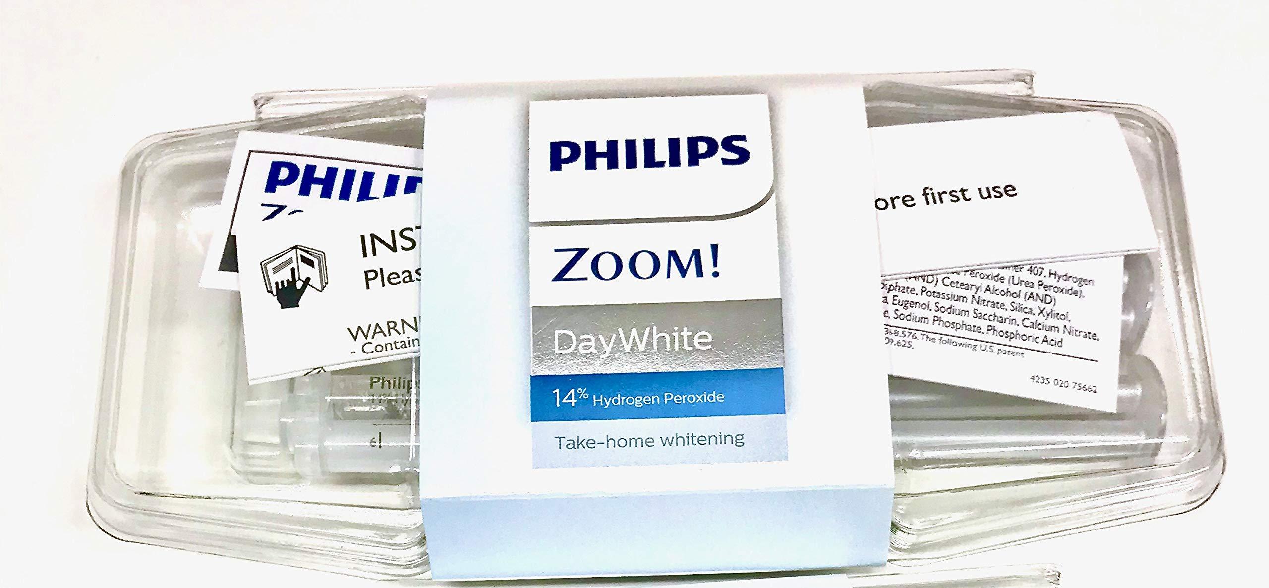 Philips Zoom 14% Teeth Whitening Gel 3 syringes Mint Flavor