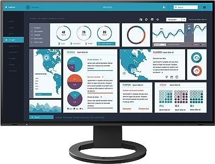 Eizo Flexscan Ev2795 Bk Professioneller Led Monitor Computer Zubehör