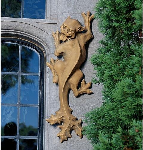 XoticBrands 34″ Unique Cat Feline Dragon Gargoyle Wall Sculpture Statue Figurine