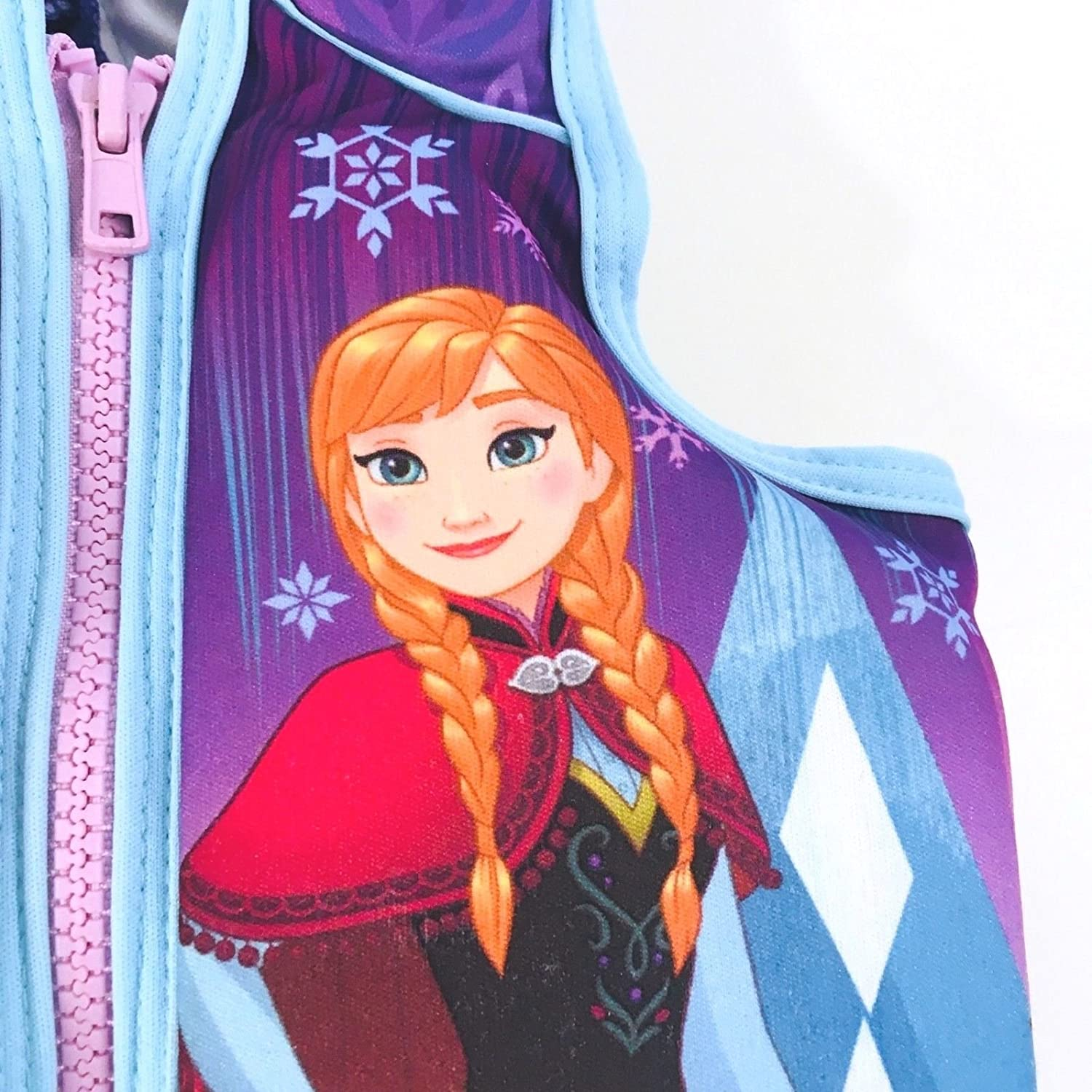 Featuring: Elsa /& Anna Frozen Swim Vest Helps To Build Confidence In The Water Disney For Children 40-55lbs