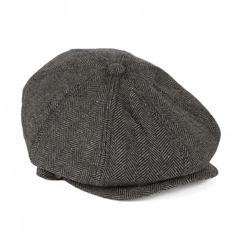 Flat Cap Hat Duckbill Hawkins Cotton Driving Men Ladies Unisex Duck Bill