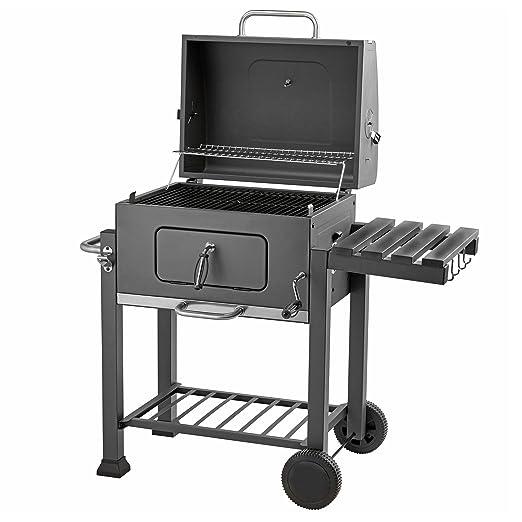 Blaze Box - Parrilla para barbacoa de carbón para cocinar al aire ...