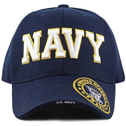Buy Caps and Hats U.S. Navy Veteran Military Baseball Cap Mens One Size Blue 1878745929e