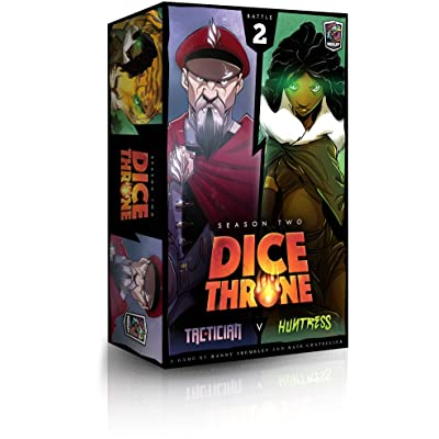 Huntress Vs Tactician - Dice Throne: Season Two Board Game: Toys & Games