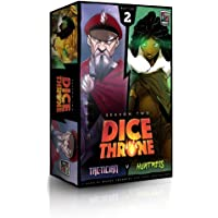 Huntress Vs Tactician - Dice Throne: Season Two Board Game