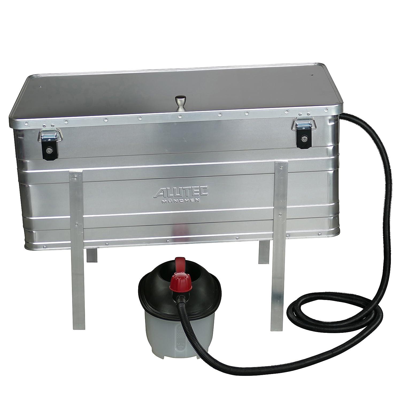 Dampfwachsschmelzer mit einem Fassungsvermögen von 140 Liter inkl. Dampferzeuger für den eigenen Wachskreislauf Weihmayr