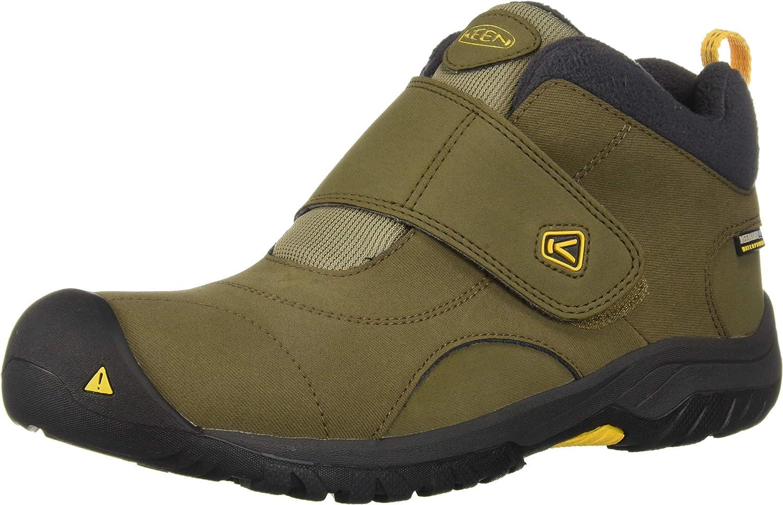 KEEN Kootenay II WP Hiking Boot, Canteen Old Gold, 1 M US