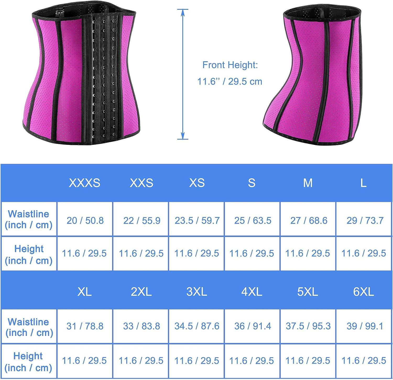 Waist/Trainer/for/Women/Weight/Loss/Corset/Latex/Waist Cincher/Hourglass/Body/Shaper/for/Tummy/Fat/Burner