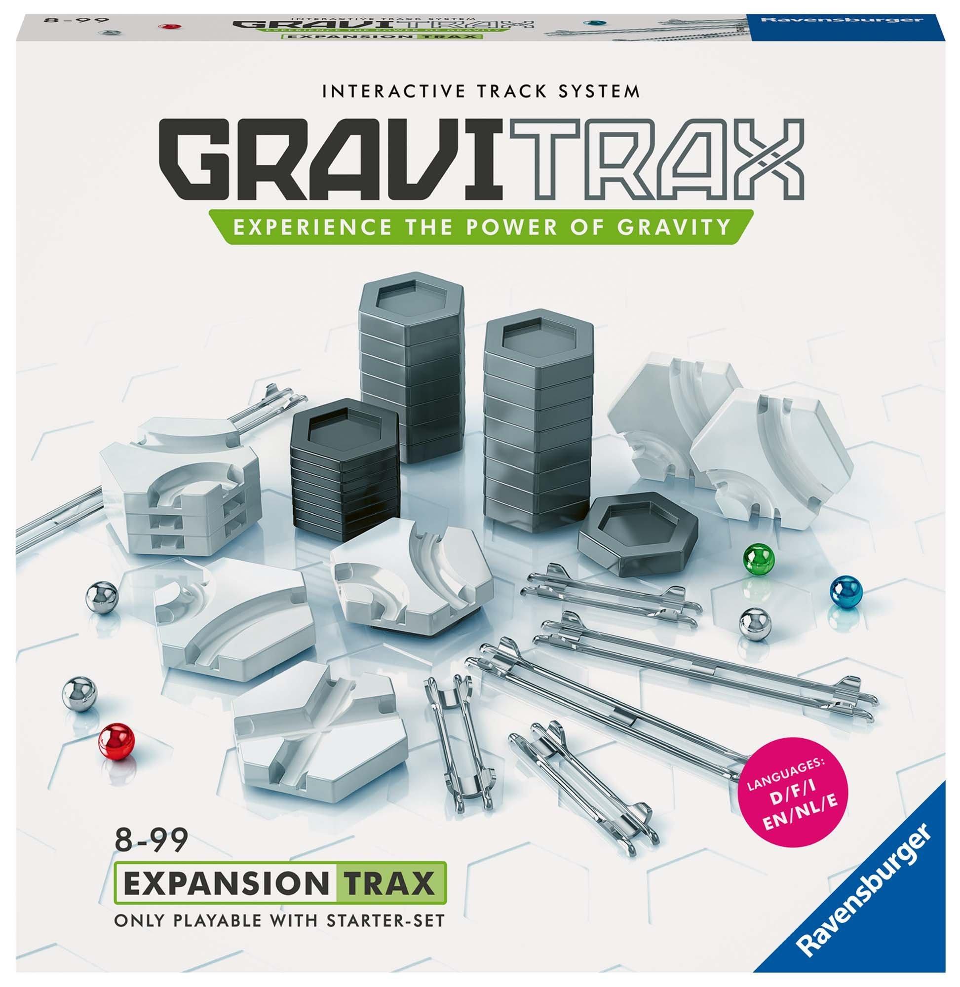 Ravensburger Gravitrax Expansion Trax Set (44 Piece), Multi