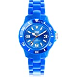 Ice-Watch - ICE solid Blue - Montre bleue mixte avec bracelet en plastique