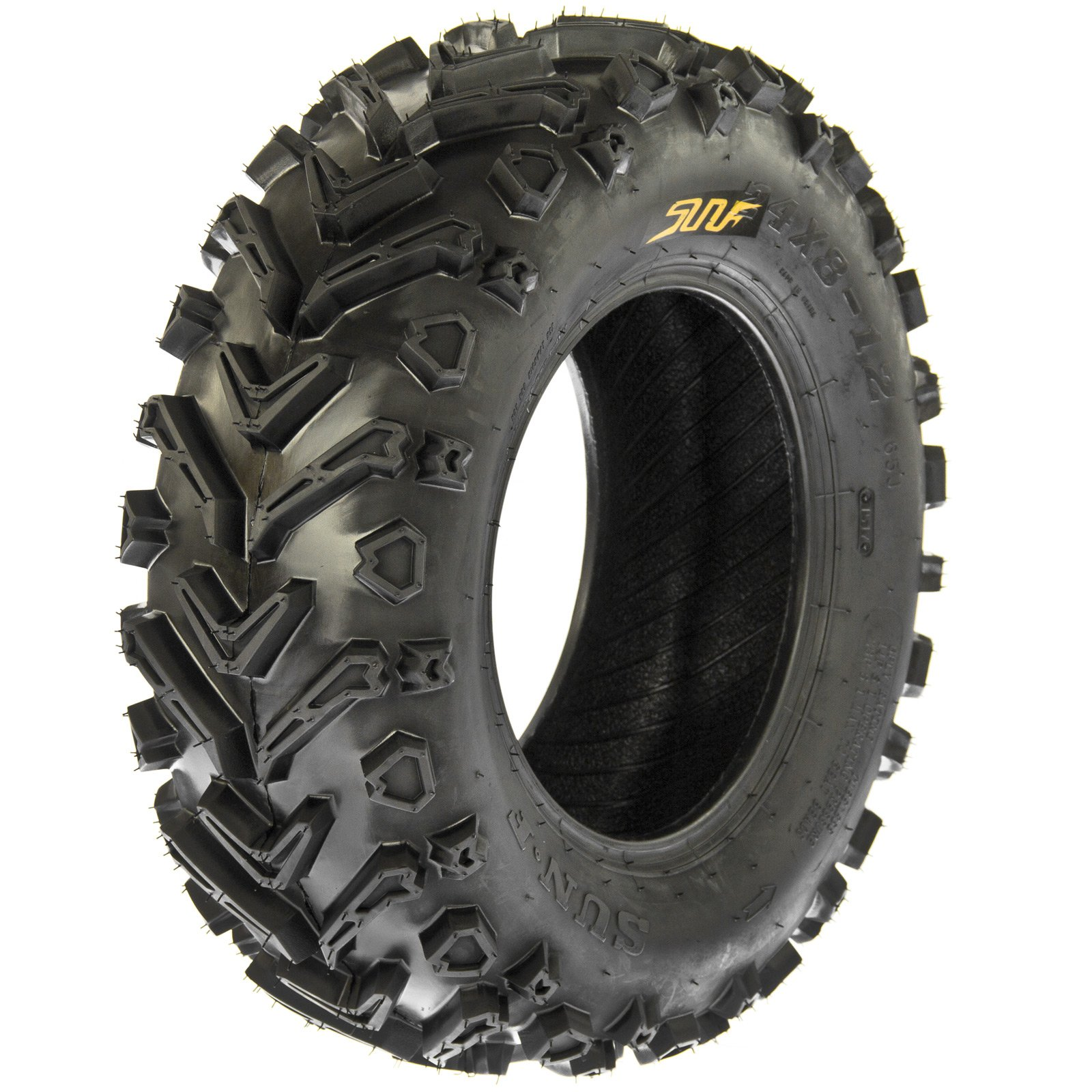 SunF A041 Mud|Trail ATV/UTV Tire 24x8-12 , 6-PR by SunF (Image #1)