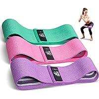 CFX Bandas Elasticas, Juego de 3 Bandas Elásticas Musculacion para Fitness con 3 Niveles, Resistencia Antideslizante…